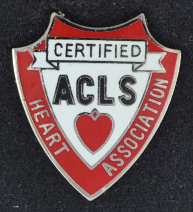 ACLS Certified AHA Pin