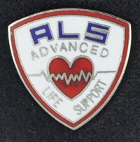 ALS Advanced Life Support Pin