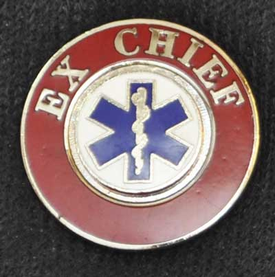 EMS Ex-Chief Insignia Pin