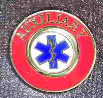 EMS Auxiliary Insignia Pin