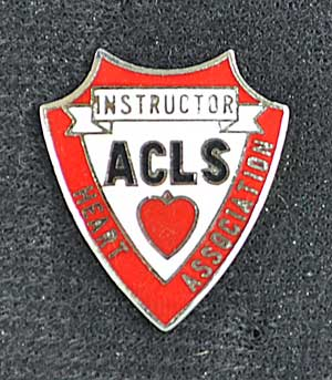 ACLS Instructor AHA Pin