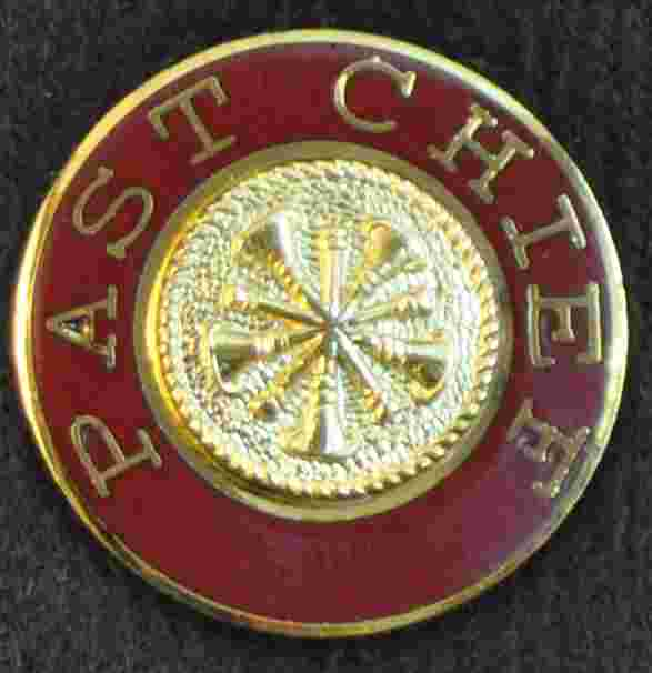 Past Chief Uniform Pin