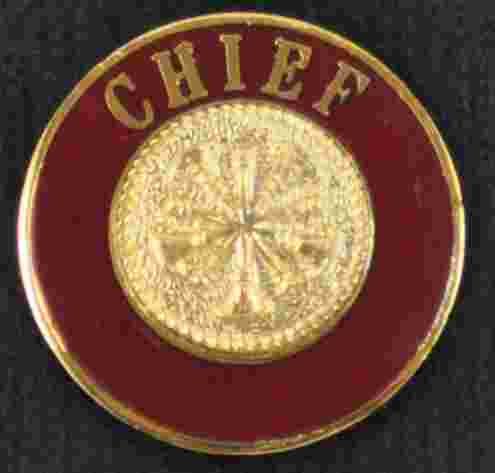 Chief Uniform Pin