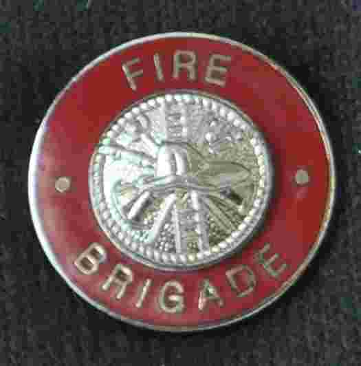 Fire Brigade Uniform Pin