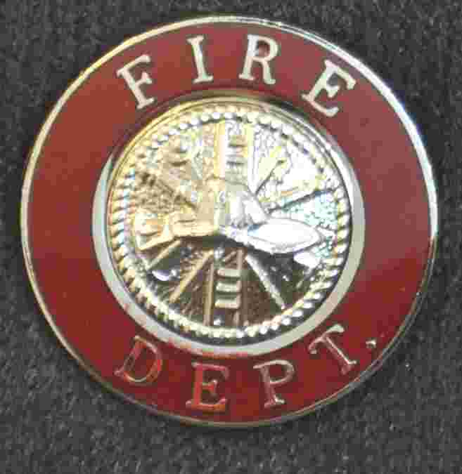 Fire Department Uniform Pin