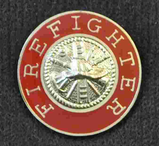 Firefighter Uniform Pin
