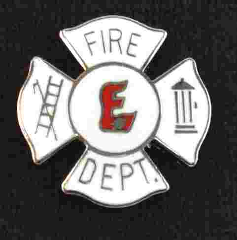 Explorer Fire Department Pin