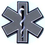 Reflective 5 inch Star Of life
