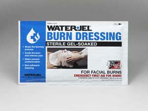 12inx16in Water Jel-tm burn dressing for facial burns sterile - 1 each