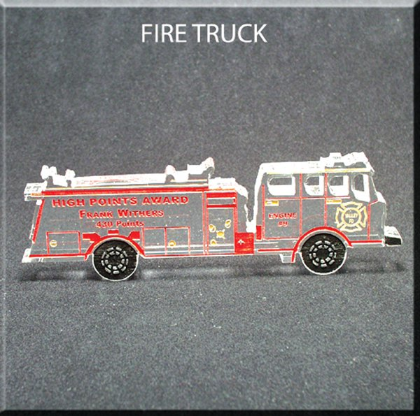 Fire Truck Award Small