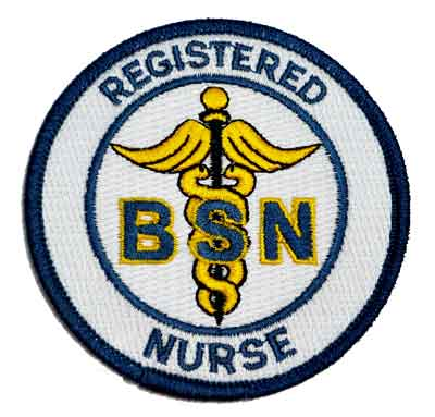 Registered BSN Nurse Patch