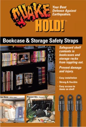 Bookcase and Storage Strap