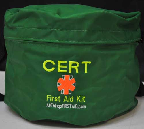 CERT Member First Aid Kit