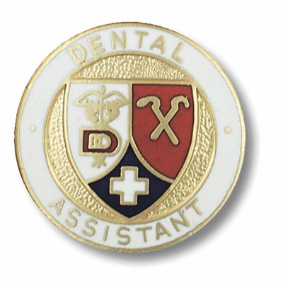 Dental Assistant Emblem Pin