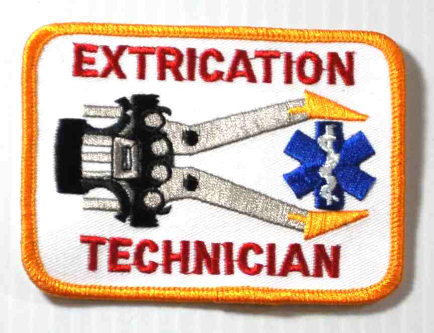 Extrication Technician Embroidered Patch