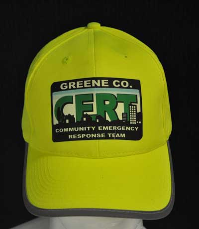 Custom CERT BallCap with Reflective stripes