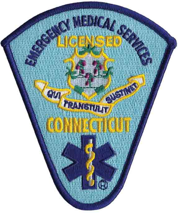Connecticut Licensed Patch