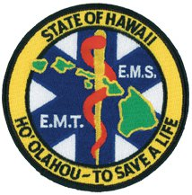Hawaii EMT Patch