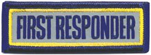 First Responder Reflective Bar 1 x3