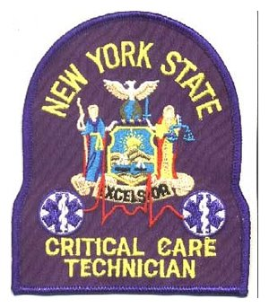 New York EMT-Critical Care Tech Patch