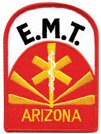 Arizona EMT Patch