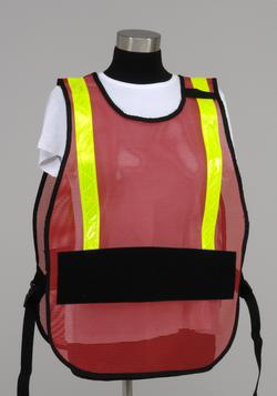 Interchangeable Title ICS Poncho Vest (no titles included)