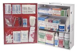 3-Shelf First Aid Commercial Kit
