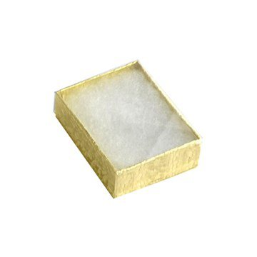 Clear View Box for Pins - Box/100 - Gold Finish