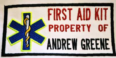 Personalized Property of First Aid Kit Patch