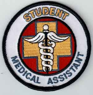 Student Medical Assistant Patch