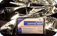 Foil Survival Blanket - sold each