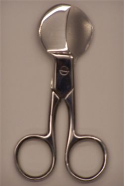 Umbilical Cord Scissors - 4.5 inch