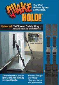 Universal Flat Screen TV Safety Strap