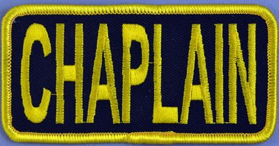 Chaplain Chest Patch