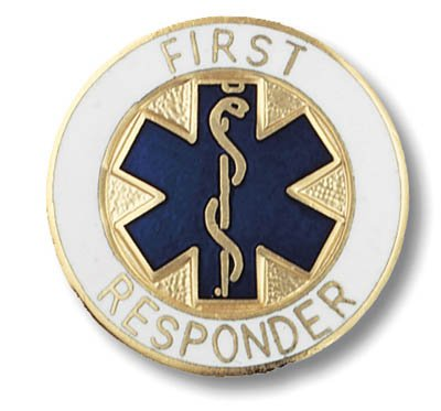First Responder Professional Pin