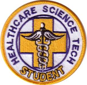 Healthcare Science Tech Student Embroidered Patch