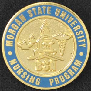 Morgan State University Nursing Pin