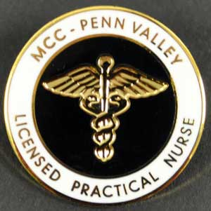 MCC - Penn Valley LPN Pin