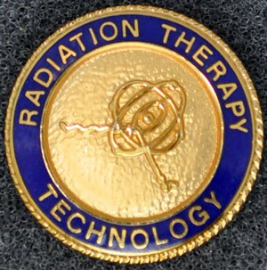 Radiation Therapy Graduation Pin
