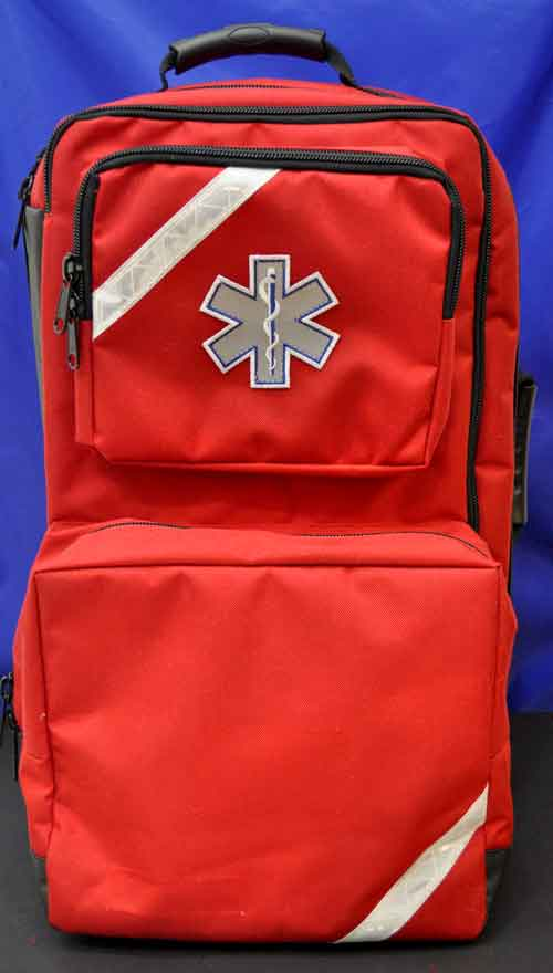Rescue Responder Empty Backpack