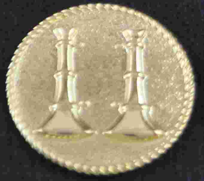 Double Bugle  Pins Sold in pairs