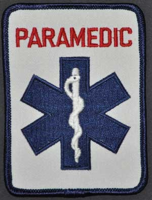 PARAMEDIC Rectangle Patch