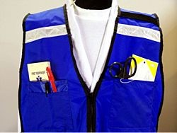 EMS Style Multi-Pocket Safety Vest