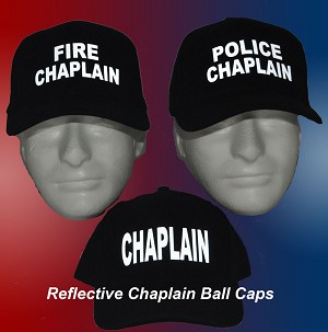 Reflective Chaplain Ball Caps