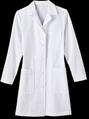 Womens 37 inch Labcoat
