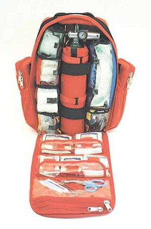 Urban Rescue Trauma BackPack for  D-size O2