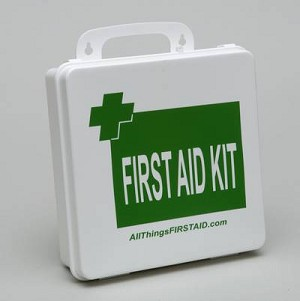 OSHA/ANSI Office First Aid Kit Class B Metal Case