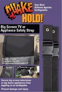 Big Screen TV Strap-Appliance Strap  -Black