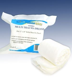 Rolled Multi-Trauma Dressing
