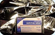 Foil Survival Blankets - case of 250